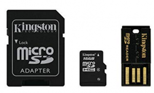 Kingston Mobility Kit Scheda micro-SDHC SDXC 16GB