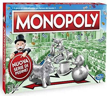 Hasbro Monopoly-C1009103 Classico