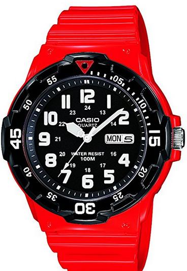 Orologio da Uomo Casio Collection Colore Rosso