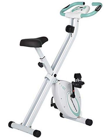 Ultrasport F-Bike, Cyclette da Allenamento, Home Trainer, Fitness Pieghevole Allenamento
