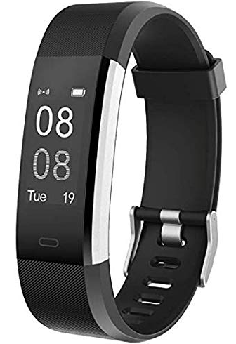 YAMAY Smartwatch Braccialetto Fitness Activity Tracker Impermeabile Cardiofrequenzimetro Contapassi