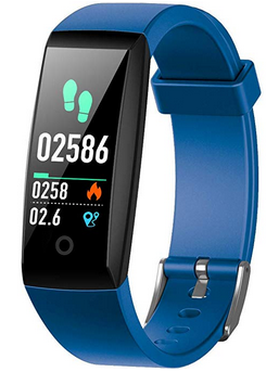 iPosible Fitness Tracker, Orologio Fitness Braccialetto Pressione Sanguigna