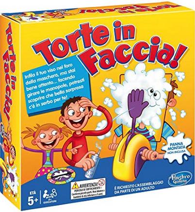 Hasbro Gaming - Gioco Torte in Faccia Scatola B7063103