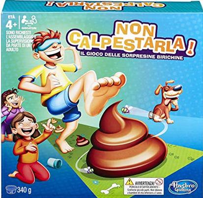 Hasbro Gaming - Non Calpestarla! Scatola E2489103