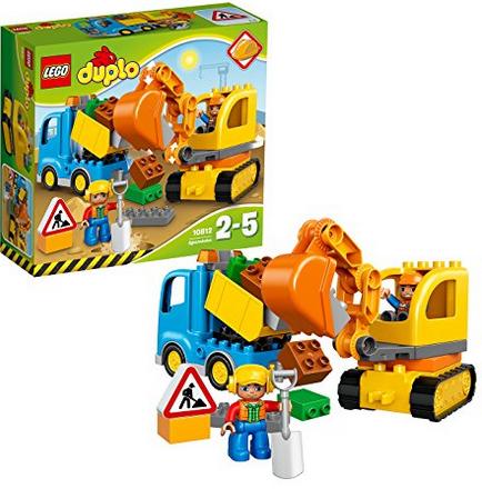 LEGO Duplo - Camion e Scavatrice Cingolata, 10812