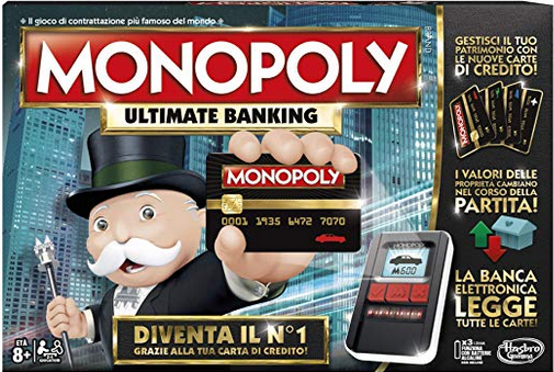Hasbro Gaming Monopoly - Ultimate Banking, B6677103